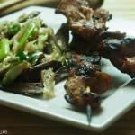 Gluten-free Teriyaki Chicken Skewers