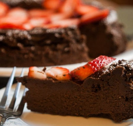 Flourless Chocolate Cake - Gluten Dairy and Soy Free!