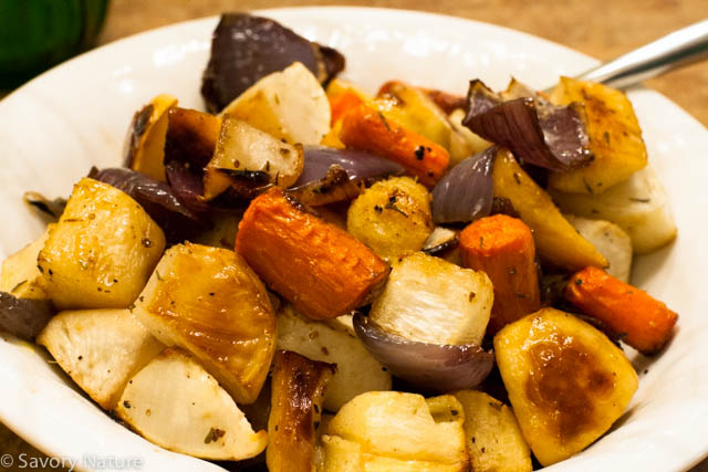 how to make roasted root vegetables