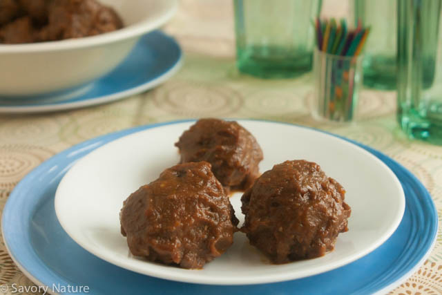 Barbecue Meatballs - Gluten-Free Nightshade-Free