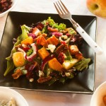 Sweet Potato Salad with Apple, Cranberries and Pecans