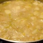 Potatoes Simmering in Clam Juice