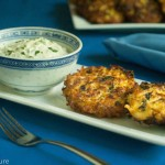 Cauliflower Fritters with Carrot and Spinach – Gluten Free