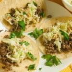 Leftover Lamb Tacos