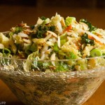 Napa Cabbage and Kale Slaw