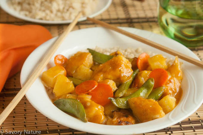 Sweet and Sour Chicken - Soy Free Nightshade Free
