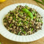 Black, Brown, and Wild Rice Pilaf