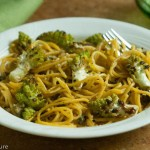 Quick Pasta with Roasted Romanesco