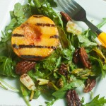 Grilled Peaches with Peach Balsamic Vinaigrette