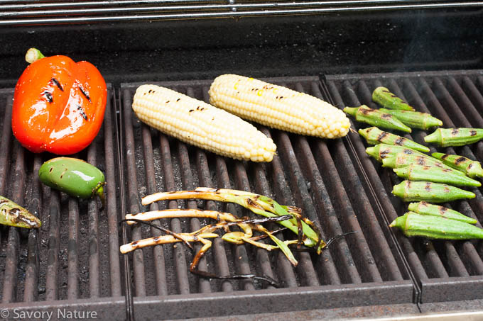 Summer Vegetables on the Grill