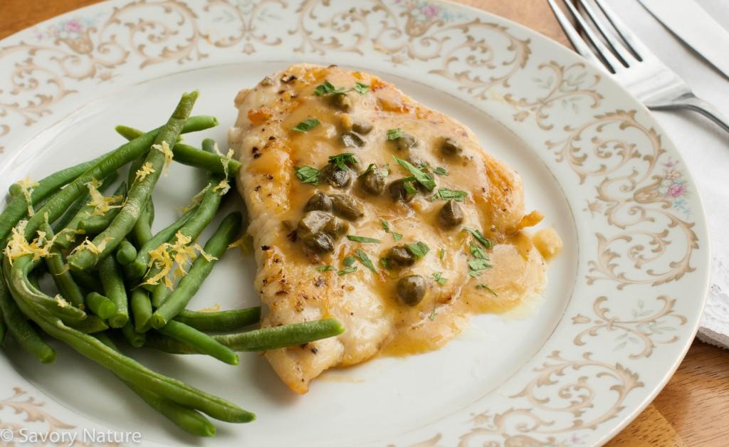 Gluten-Free Chicken Piccata