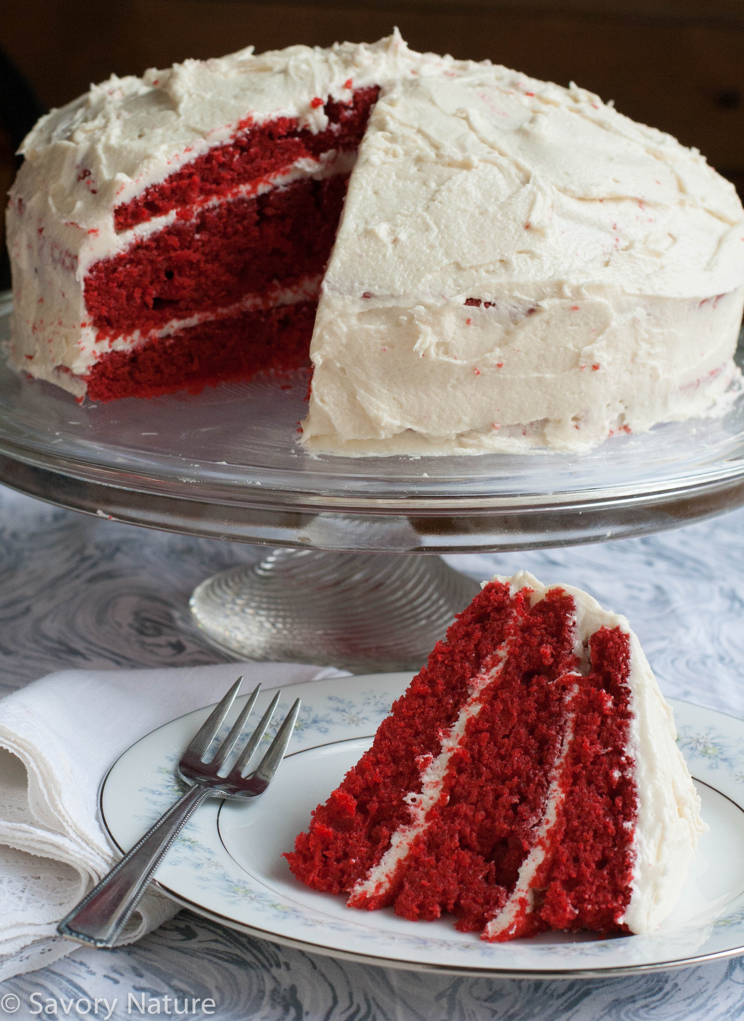 Extra Rich Red Velvet Cake