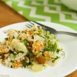 Quinoa Salad with Fennel and Apricots