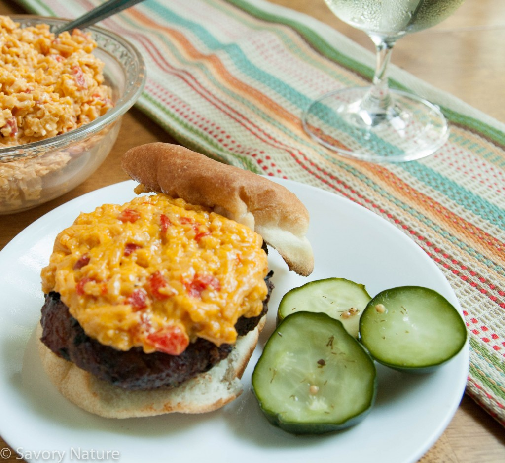 Pimento Cheese Burgers