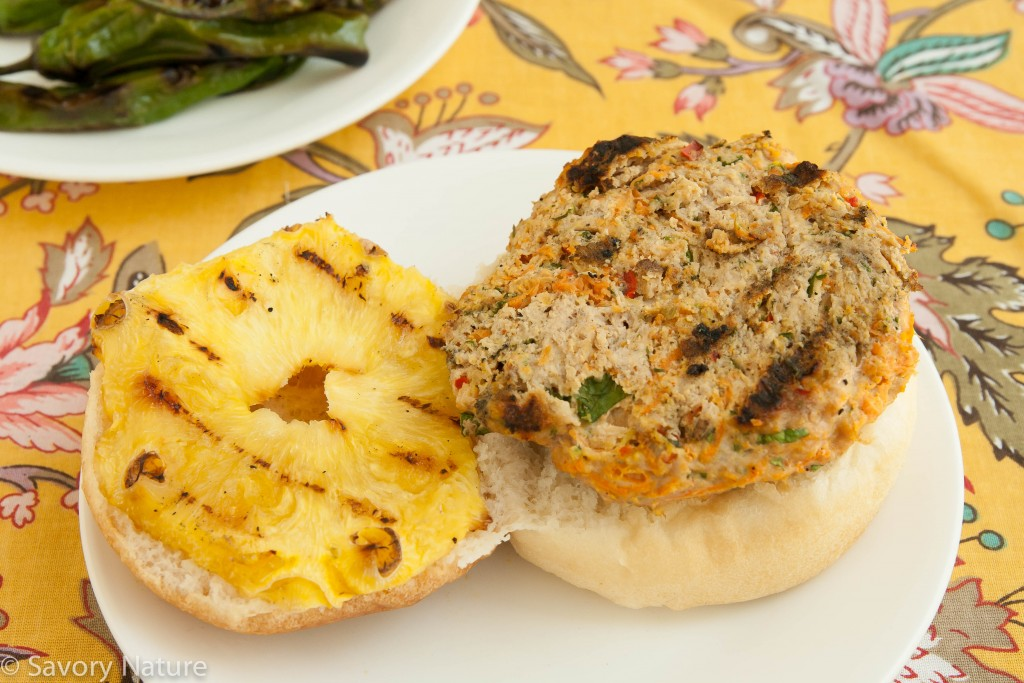 Best Turkey Burgers with Pineapple