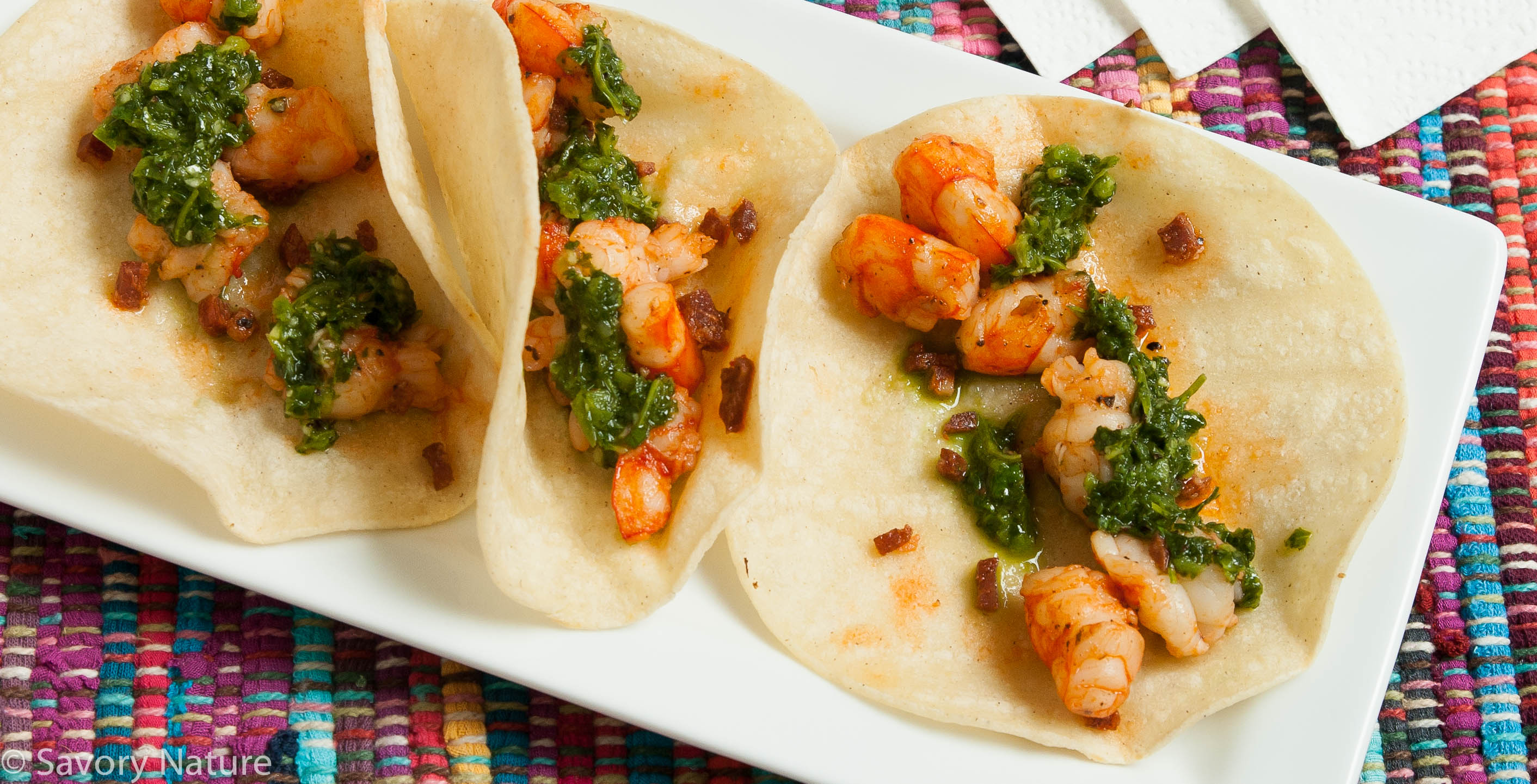 these shrimp tacos were inspired by a favorite lunch place gonza tacos ...