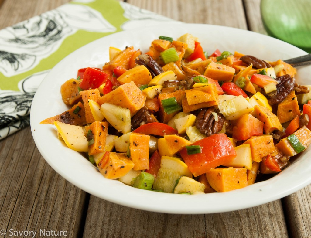 Sweet Potato Squash Salad
