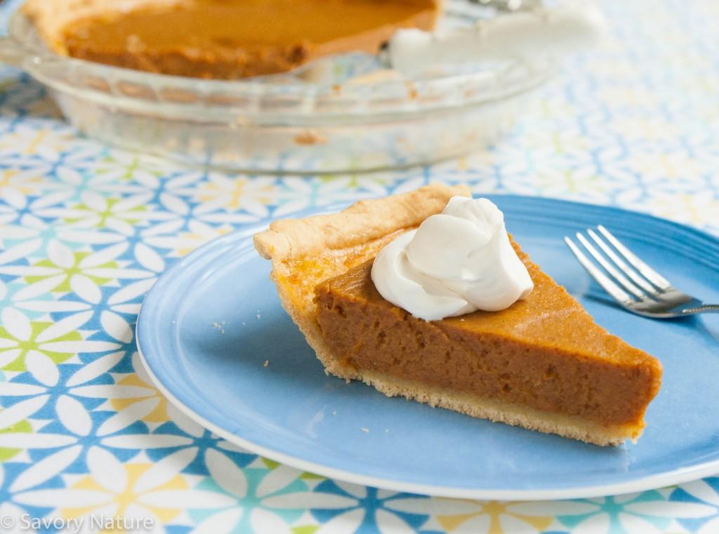 Pumpkin Pie - Gluten Free Dairy Free