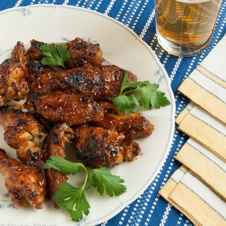 Spicy Orange Sesame Chicken Wings