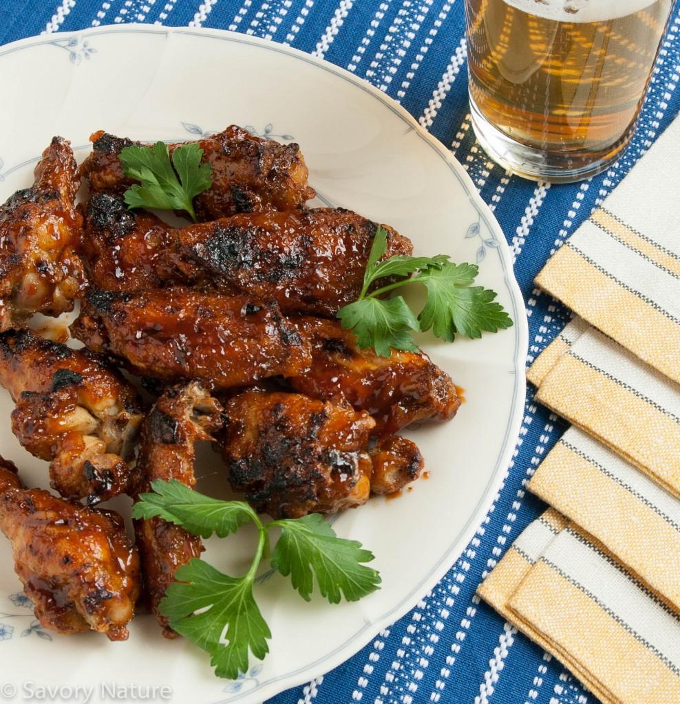 Spicy Orange Sesame Chicken Wings