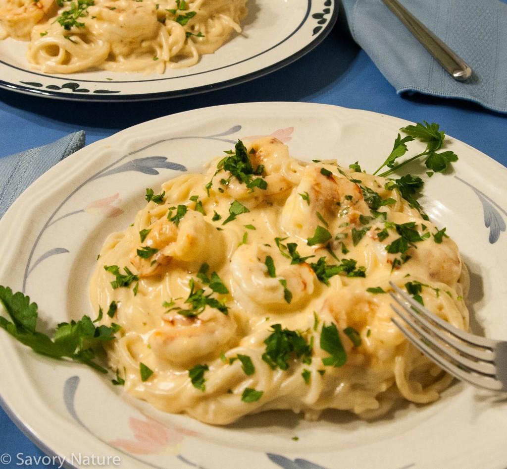 Shrimp Alfredo - Gluten Free