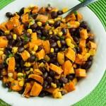 Sweet Potato, Black Bean and Corn Salad