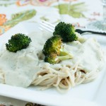 Vegan Pasta with Cauliflower Cream Sauce