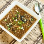 Hot and Sour Soup – Vegetarian